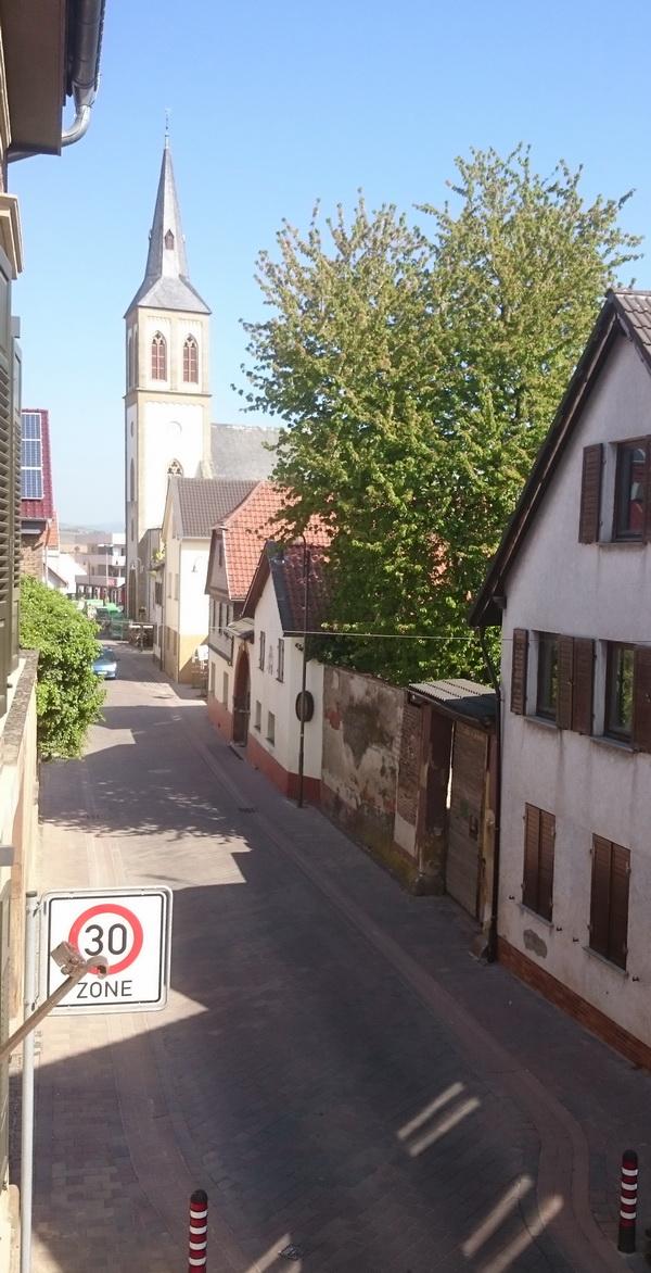 Naheweinstraße - erster Bauabschnitt im alten Ortsteil