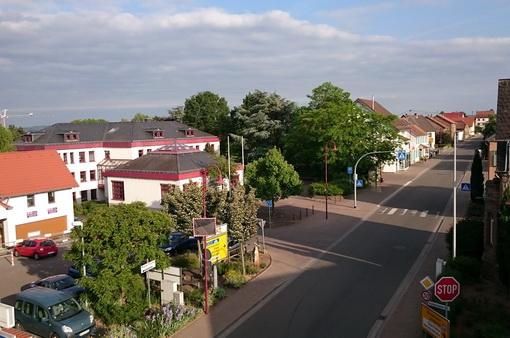 Naheweinstraße in Langenlonsheim