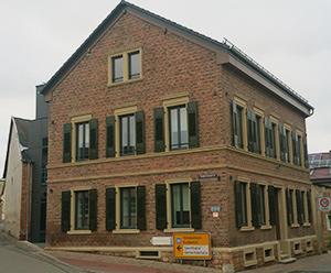 Rathaus der Ortsgemeinde Langenlonsheim