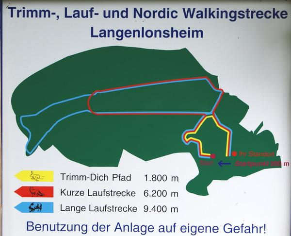 Trimm-Dich und Nordic Walking Anlage